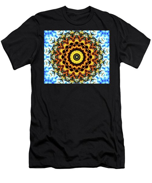 Men's T-Shirt (Slim Fit) featuring the digital art Solar Flare 2 by Wendy J St Christopher