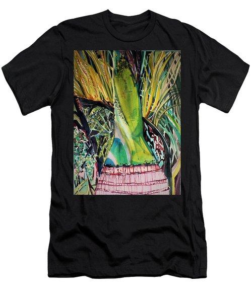 Solar Palm Men's T-Shirt (Athletic Fit)