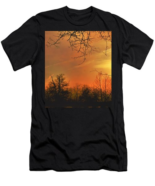Men's T-Shirt (Athletic Fit) featuring the photograph Solara by EDi by Darlene