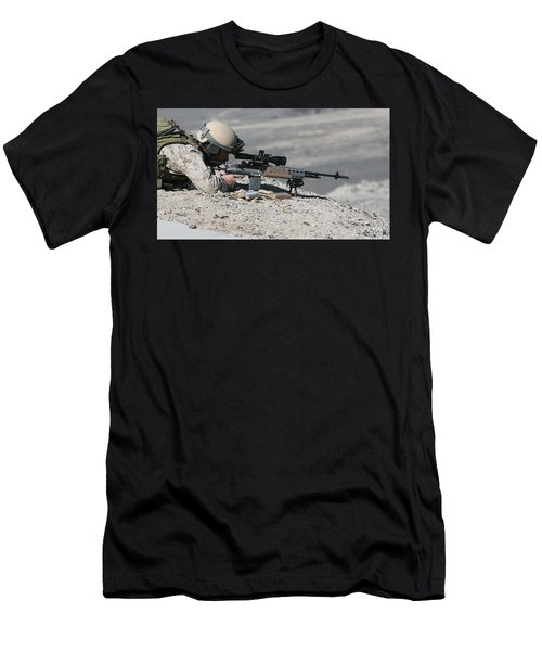 Soldier Men's T-Shirt (Athletic Fit)