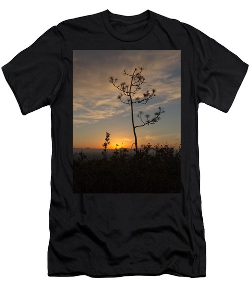 Solitude At Solidad Men's T-Shirt (Slim Fit) by Jeremy McKay