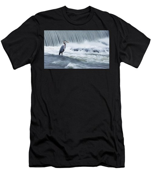 Solitude In Stormy Waters Men's T-Shirt (Athletic Fit)