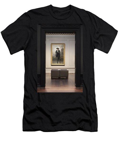 Solitude Men's T-Shirt (Slim Fit) by Jewels Blake Hamrick