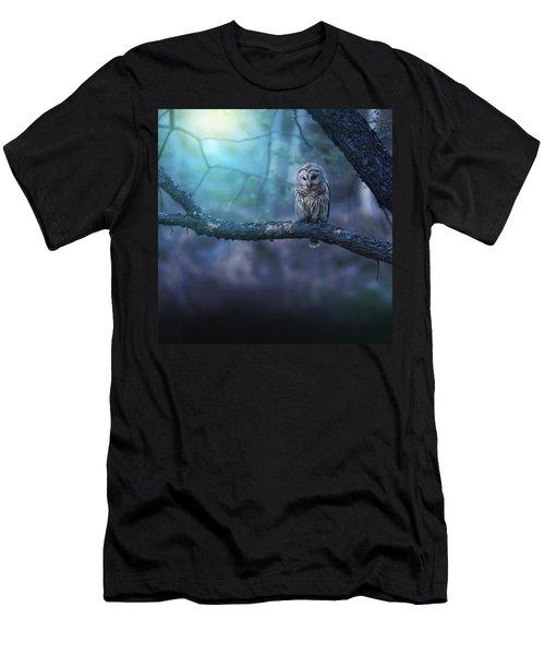 Solitude - Square Men's T-Shirt (Slim Fit) by Rob Blair