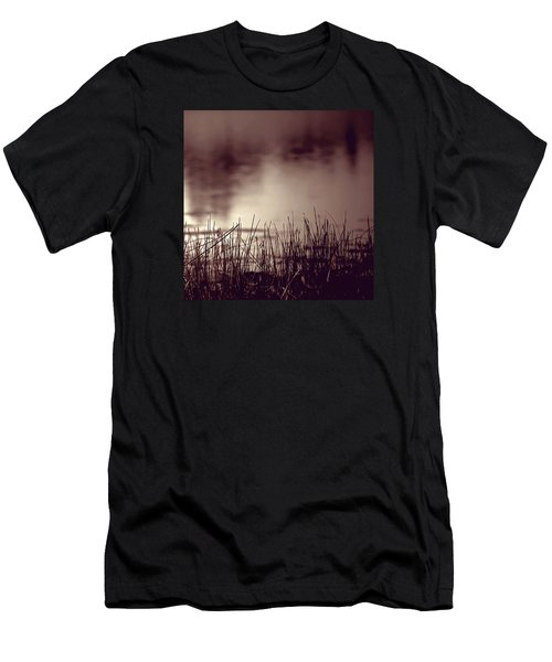 Men's T-Shirt (Slim Fit) featuring the photograph Solitude by Trish Mistric