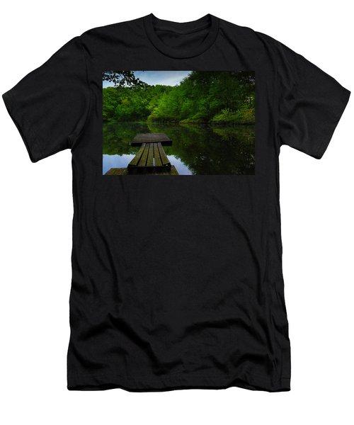 Solitudes  Men's T-Shirt (Athletic Fit)