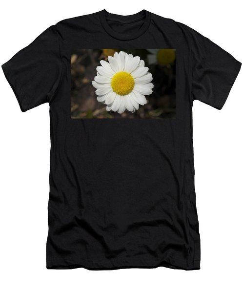 Solo Daisy Men's T-Shirt (Slim Fit) by Henri Irizarri