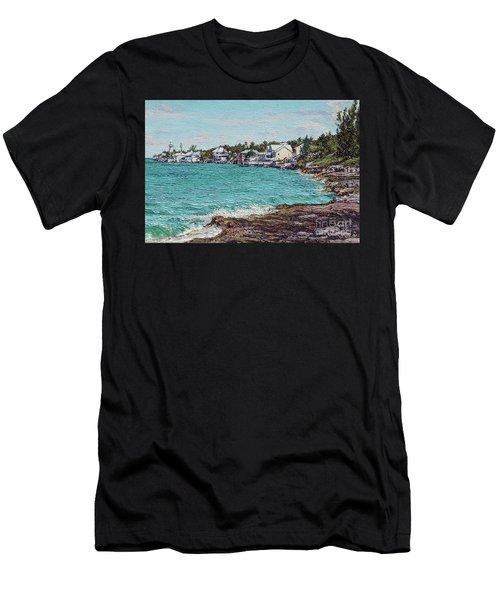 Solomons Lighthouse Men's T-Shirt (Athletic Fit)