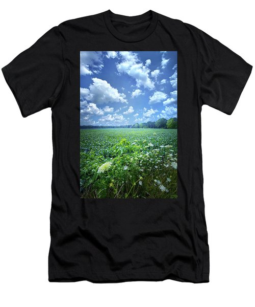 Men's T-Shirt (Athletic Fit) featuring the photograph Something Good In This World by Phil Koch