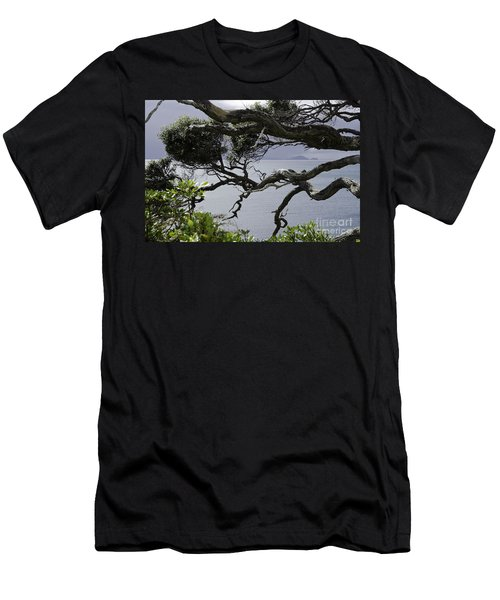 Men's T-Shirt (Slim Fit) featuring the photograph Somewhere Around Whangarei, New Zealand by Yurix Sardinelly
