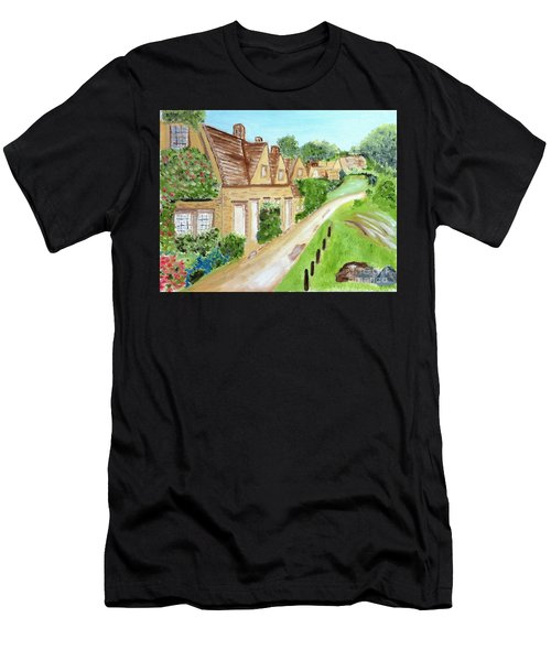 Somewhere In Cotswolds South West England Men's T-Shirt (Athletic Fit)