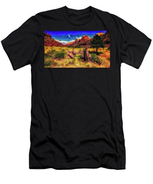 Somewhere In Utah ... Men's T-Shirt (Athletic Fit)