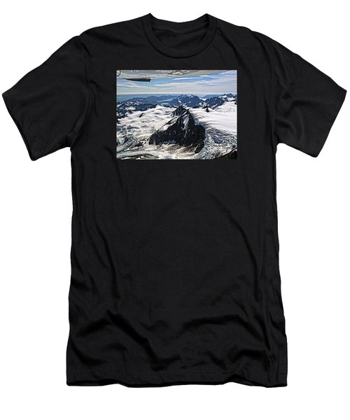 Somewhere Over Alaska Men's T-Shirt (Athletic Fit)