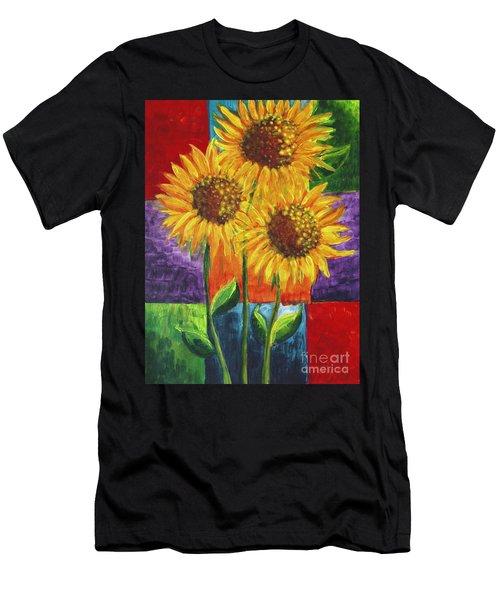 Sonflowers I Men's T-Shirt (Athletic Fit)