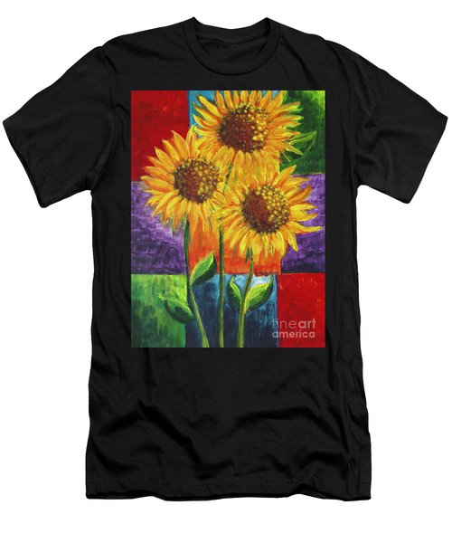 Sonflowers I Men's T-Shirt (Athletic Fit)