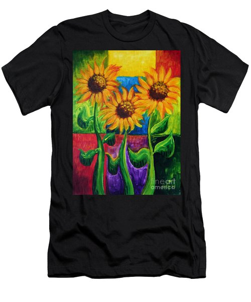 Sonflowers II Men's T-Shirt (Athletic Fit)