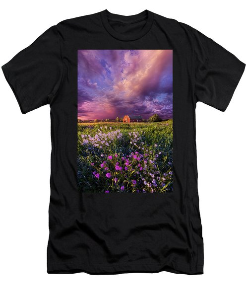 Songs Of Days Gone By Men's T-Shirt (Slim Fit) by Phil Koch
