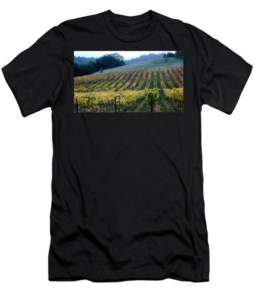 Sonoma County Vineyards Near Healdsburg Men's T-Shirt (Athletic Fit)