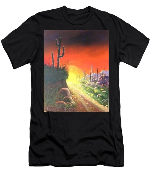 Sonora Sunrise Men's T-Shirt (Athletic Fit)