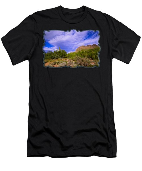 Sonoran Afternoon H40 Men's T-Shirt (Athletic Fit)