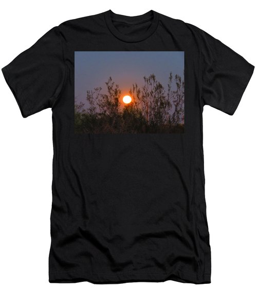 Sonoran Desert Harvest Moon Men's T-Shirt (Athletic Fit)