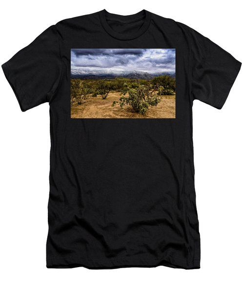 Sonoran Winter H46 Men's T-Shirt (Athletic Fit)