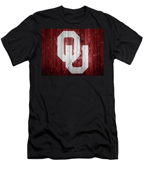 Sooners Barn Door Men's T-Shirt (Athletic Fit)