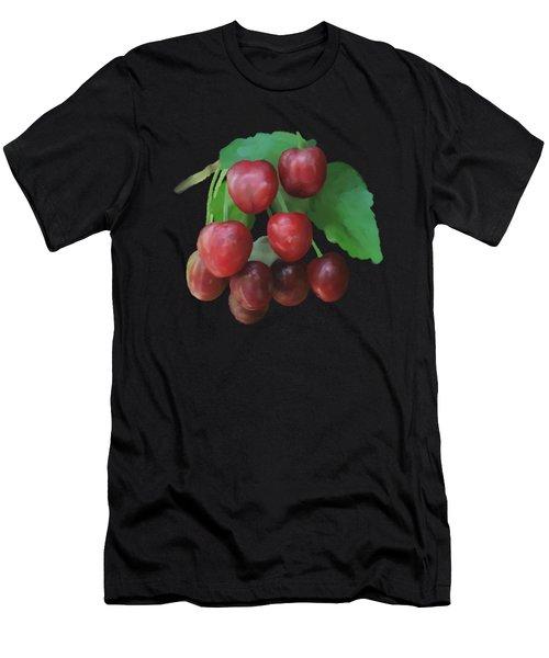 Sour Cherry Men's T-Shirt (Athletic Fit)