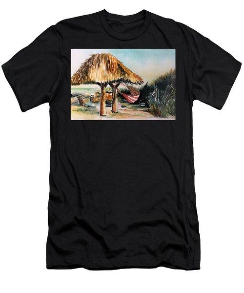 South Beach Inn Florida Men's T-Shirt (Athletic Fit)