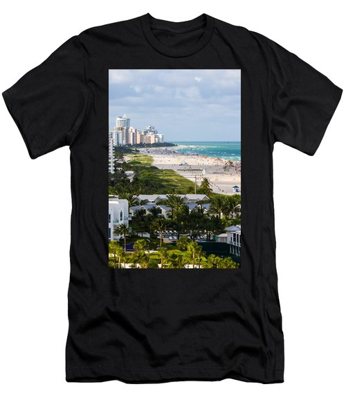 South Beach Late Afternoon Men's T-Shirt (Athletic Fit)