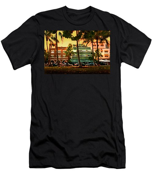 South Beach Ocean Drive Men's T-Shirt (Athletic Fit)