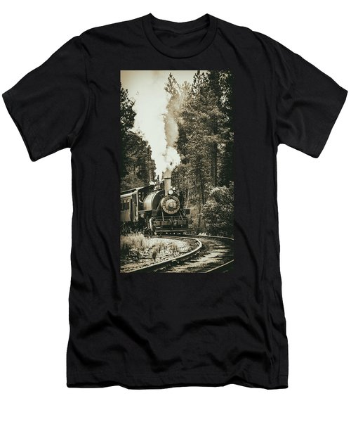 South Dakota Iron Men's T-Shirt (Athletic Fit)
