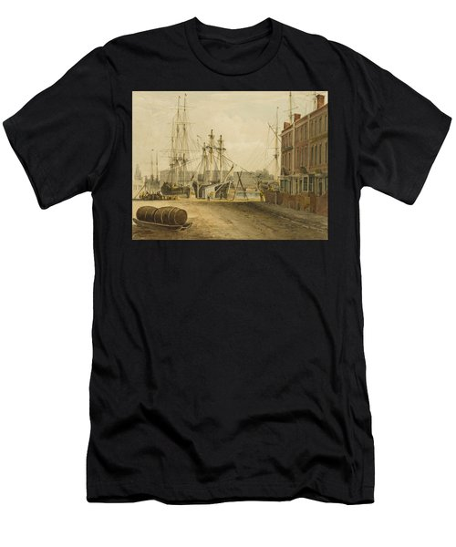 South End Of Prince's Street Men's T-Shirt (Athletic Fit)
