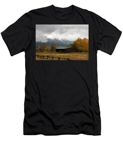 South Idaho Rt 20 Men's T-Shirt (Athletic Fit)