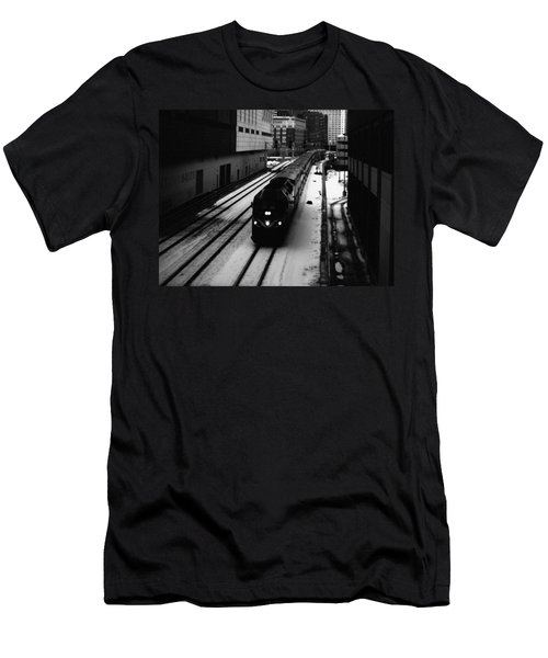 South Loop Railroad Men's T-Shirt (Athletic Fit)