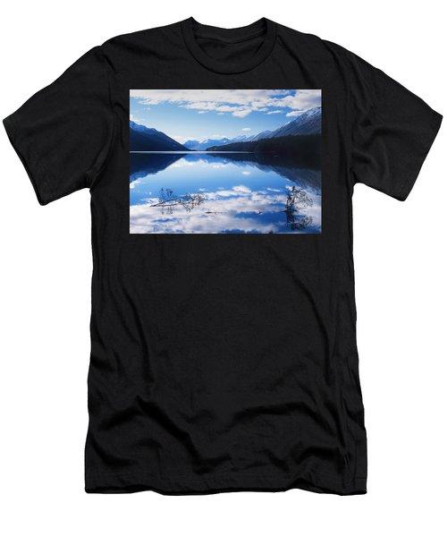 South Mavora Lake, New Zealand Men's T-Shirt (Athletic Fit)