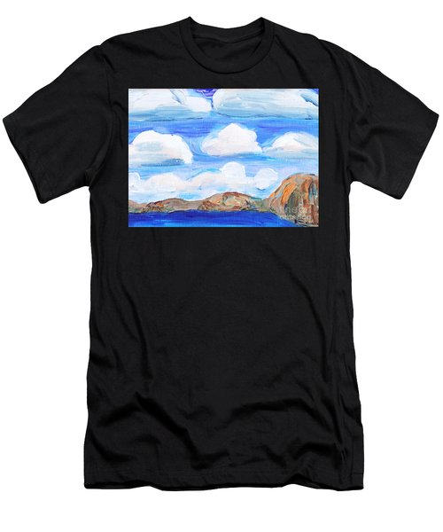 South Morro Bay View To North Men's T-Shirt (Athletic Fit)