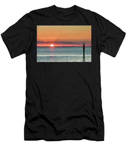 South Padre Island Sunset Men's T-Shirt (Athletic Fit)