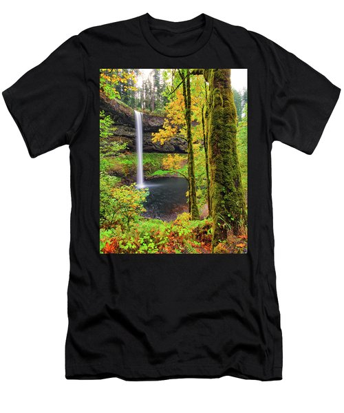South Silver Falls Men's T-Shirt (Athletic Fit)