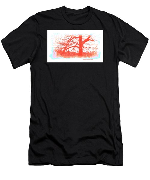 Men's T-Shirt (Slim Fit) featuring the photograph South Texas Impression by Carolina Liechtenstein