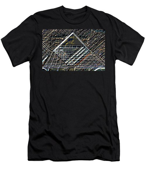 Southbank London Abstract Men's T-Shirt (Athletic Fit)