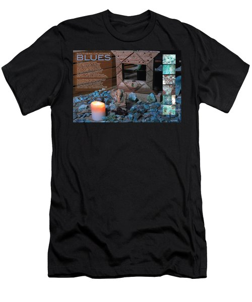 Southern California Blues Men's T-Shirt (Athletic Fit)