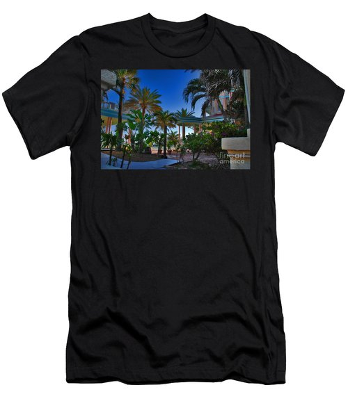 Southernmost Lush Garden In Key West Men's T-Shirt (Athletic Fit)