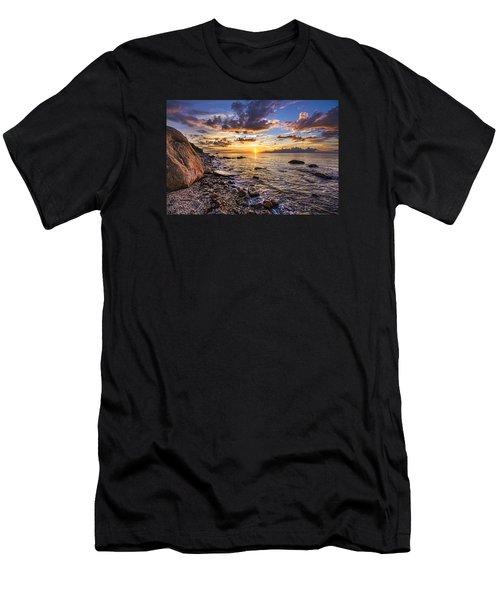 Southold Sunset Men's T-Shirt (Athletic Fit)