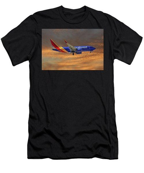 Southwest Airlines Boeing 737-76n 3 Men's T-Shirt (Athletic Fit)