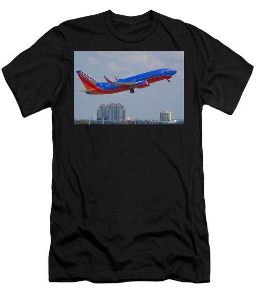 Southwest Airlines Men's T-Shirt (Athletic Fit)