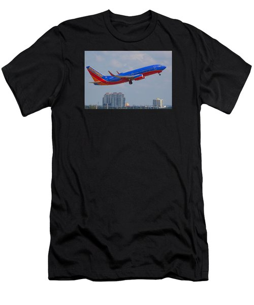 Southwest Airlines Men's T-Shirt (Athletic Fit)