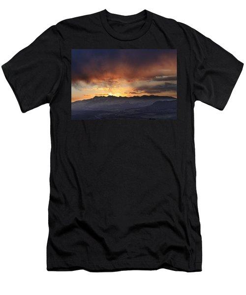Southwest Colorado Sunset Men's T-Shirt (Athletic Fit)