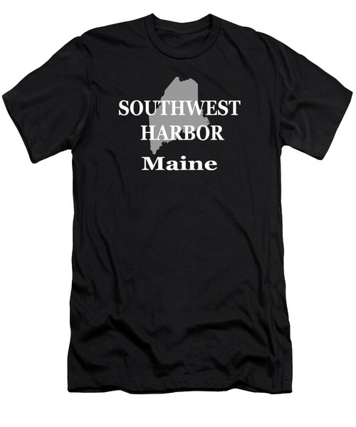 Southwest Harbor Maine State City And Town Pride  Men's T-Shirt (Athletic Fit)