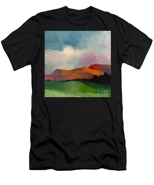 Men's T-Shirt (Athletic Fit) featuring the painting Southwest Light by Michelle Abrams
